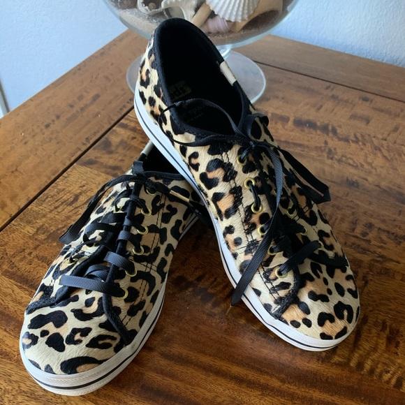 KEDS Kate Spade Calf Hair Sneakers